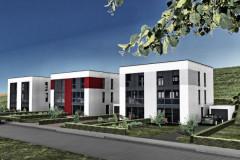 Moderne doppelhäuser flachdach  Moderne Doppelhäuser in Zöllnitz bei Jena - Rötzer Ziegelhaus