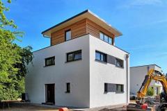 Modernes cubus haus in bad klosterlausnitz r tzer ziegelhaus for Modernes haus staffelgeschoss