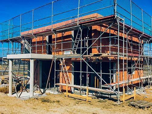 Baustart für Stadtvilla